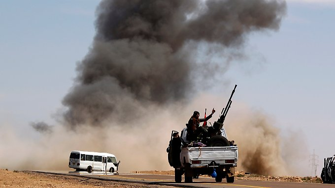 Krieg in Libyen: Chronologie der Eskalation