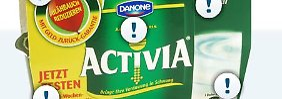 Danone hat sich die lebenden Joghurtkulturen in Activia patentieren lassen.