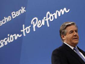 Josef Ackermann: Für den Chef der Deutschen Bank geht es um das Vertrauen zwischen Bank und Kunde.