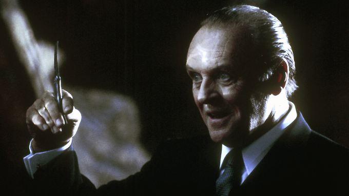 "Filmszene aus ""Hannibal"" - Hopkins in seiner Paraderolle."