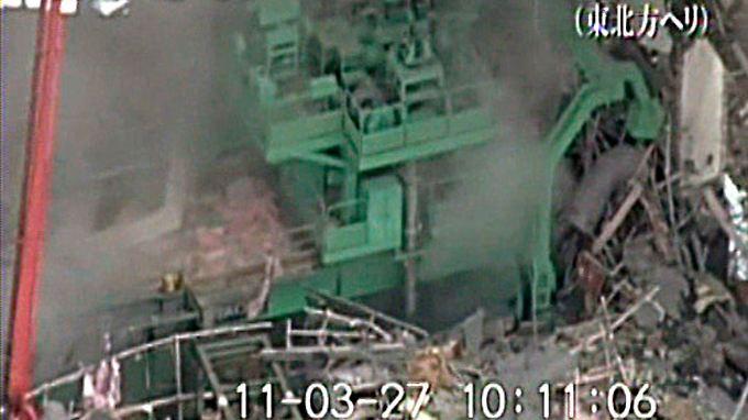 Die Ruine des 4. Reaktorblocks in Fukushima.