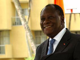 Alassane Ouattara hat beste Verbindungen in den Westen.