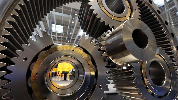 Nicht nur auf der Hannover Messe wird beim Maschinenbau das große Rad gedreht.