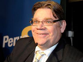 Der rechtsgerichtete Finne Soimi kann der EU schwer zu schaffen machen.