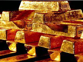 Das attraktive Gold lockt die Leute.
