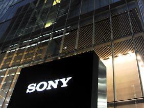 Der Hauptsitz von Sony in Tokio.