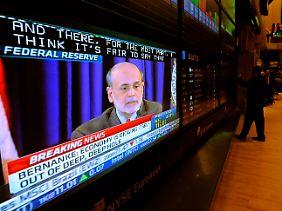 Wäre er nervös geworden, wäre es kein Wunder gewesen: Schließlich wurde ihm an den Börsen weltweit genau auf den Mund geschaut.