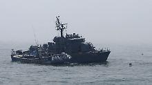 Grenzverletzung durch Nordkorea im Gelben Meer.