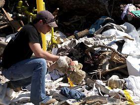 Zerstörung auch in Smithville, Mississippi.