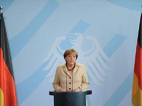 Merkel hatte sich spontan zu Bin Ladens Tod geäußert, doch Freude sei das falsche Wort, sagen ihre Kritiker.