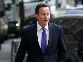 David Cameron will eine Abspaltung Schottlands unbedingt verhindern.