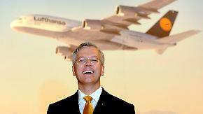 """Christoph Franz, Lufthansa: """"Da ist noch Luft drin"""""""
