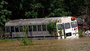 Memphis vor Katastrophe: Mississippi-Pegel steigt bedrohlich an
