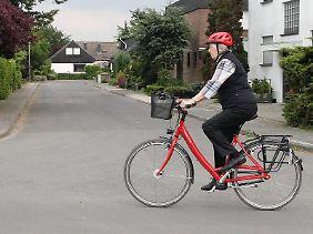 Im Alter sicher auf Achse:Radmodelle mit einem tiefen Durchstieg sind für Senioren besonders gut geeignet.