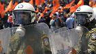 """""""Das ist eine brisante Mischung"""": Proteste eskalieren in Griechenland"""