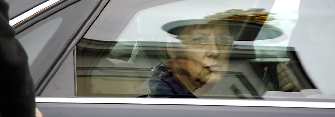 Fährt mit Verbrennungsmotor: Angela Merkel.
