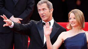 Jodie Foster gibt ihm eine Chance: Mel Gibson präsentiert neuen Film