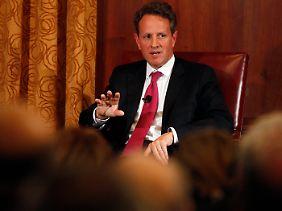 Timothy Geithner spricht Klartext.