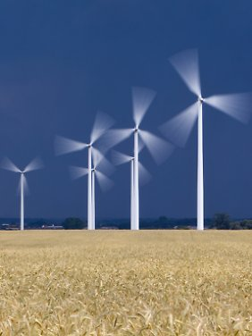 Windkraft - vor allem die an Land - liefert den größten Anteil an der Stromerzeugung aus erneuerbaren Energien.