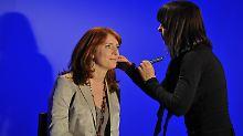 Mit einer kurzen Moderation bei der ARD-Fernsehlotterie meldete sich Monika Lierhaus vor Kurzem zurück.