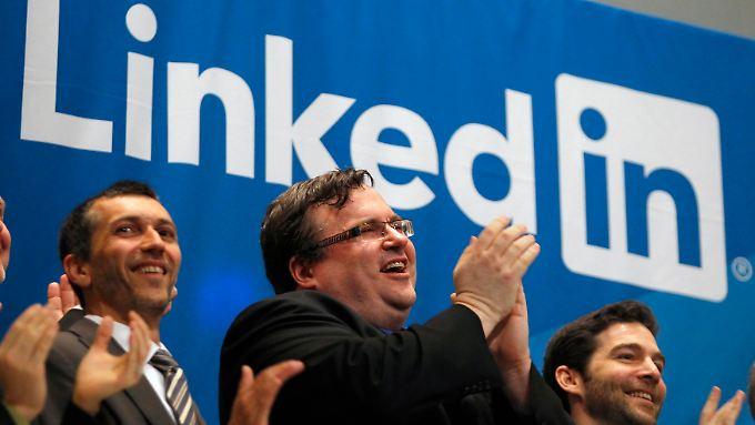 Fulminanter Börsengang: LinkedIn wagt Sprung aufs Parkett