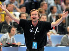HSV-Coach Schwalb konnte mit seinem Team nicht zufrieden sein.