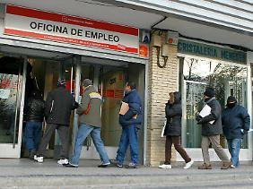 Großer Andrang herrscht derzeit besonders auf spanische Arbeitsämter.