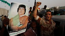 Gaddafi hat nicht nur Gegner im eigenen Land, sondern auch immer noch Unterstützer.