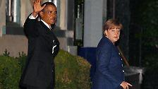 """""""Ein junges Mädchen namens Angela"""": Ganz großer Bahnhof für Merkel"""