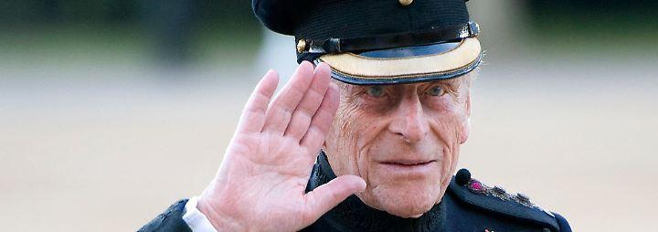 Der Charmeur des Hochadels: Prinz Philip wird zum Rentner