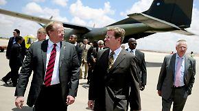 Blitzbesuch in Bengasi: Westerwelle stärkt Rebellen Rücken