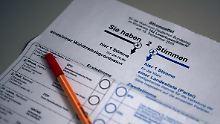 2013 steht die nächste Bundestagswahl an - bis dahin muss das Wahlgesetz stehen.