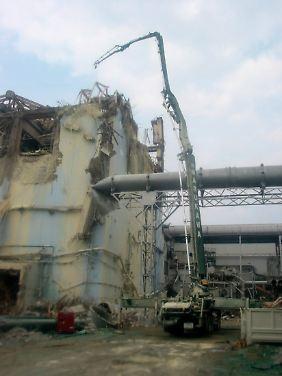 Der Rückbau der Anlage kann noch Jahre dauern.
