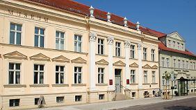 Das Museum Neuruppin: Teile der Ausstellung widmen sich Fontane und Schinkel.