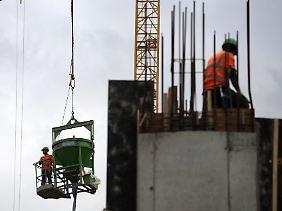 Der deutschen Baubranche geht es wieder besser.