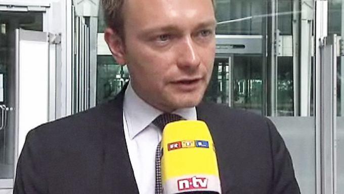 """""""Jetzt ist der richtige Zeitpunkt"""": FDP fordert erneut Steuersenkung"""