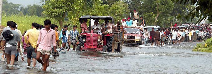... Überschwemmungen, ...