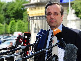Samaras weicht in Brüssel nicht von seinen Positionen ab.