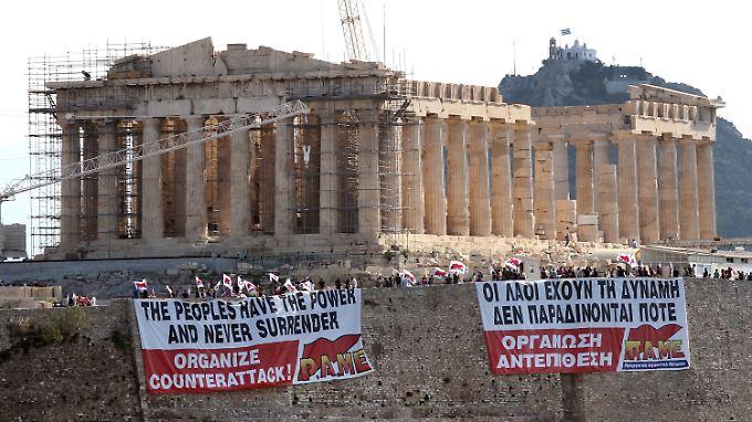 Kampf gegen massives Sparpaket: Griechenland steht vor Generalstreik