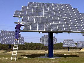 Diese Einlage steht bei Kleinwulkow in Deutschland: Könnte Solarstrom den griechischen Export beflügeln?