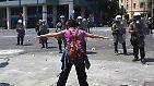 Krawalle vor dem Parlament in Athen: Der Zorn der Griechen