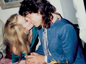 Jerry und Mick in ihrem Haus inLa Fourchette.(Privatarchiv Jerry Hall)