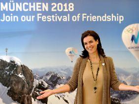 """""""Festival der Freundschaft"""": Der altbackene Slogan der Münchner Olympiabewerbung könnte am Ende der Sieger-Slogan sein."""