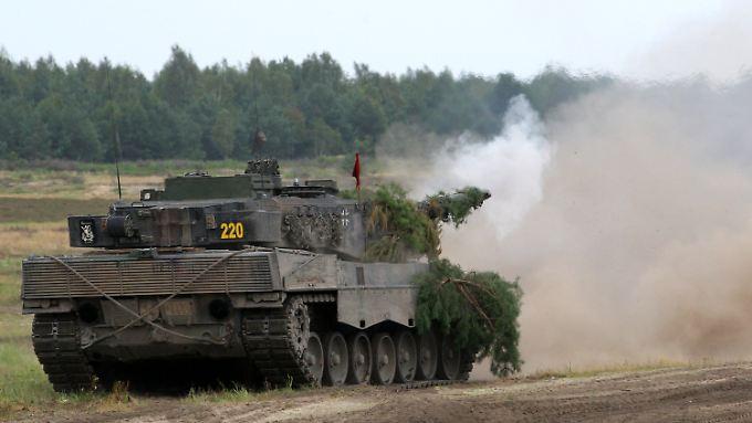 Der Leopard 2 A6 ist ein Exportschlager.