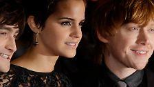 """""""Harry Potter"""" ist am Ende: Was wird aus Watson, Radcliffe und Grint?"""