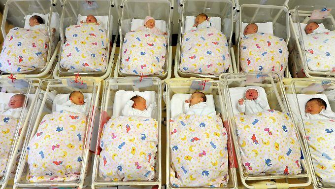 Etwa 1,75 Prozent der Kinder in Deutschland werden mit einer Behinderung geboren.