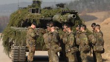 "Bilderserie: Der Kampfpanzer ""Leopard 2"""