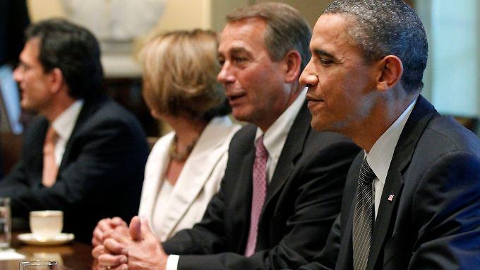 Schulden bedrohen die Weltmacht: Obama lässt nachsitzen