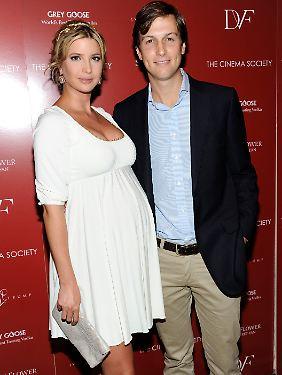 Glückliche Eltern: Ivanka und ihr Mann.