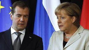 Petersburger Dialog: Merkel will Russlands WTO-Beitritt